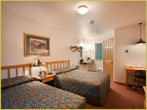 Standard Rooms at the Harborview Hotel in Seward, Alaska